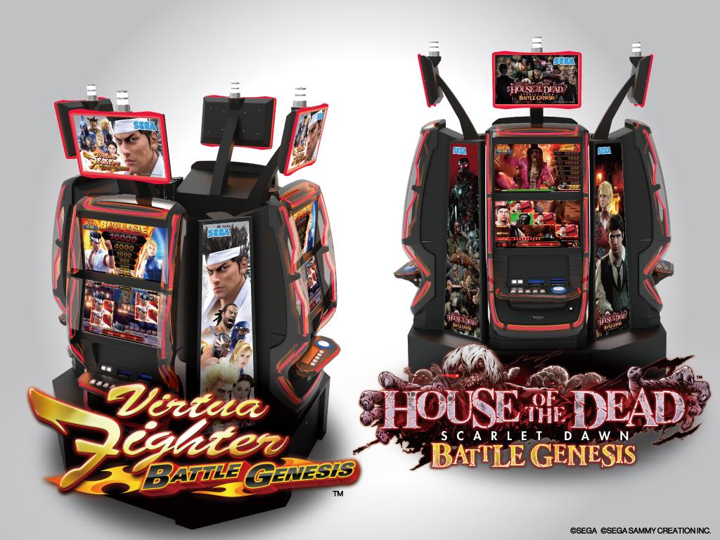 "Sega Sammy Reveals ""Virtua Fighter™"" and ""HOUSE OF THE DEAD"